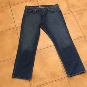 Quicksilver relaxed fit jeans. W36. Inseam 29.5.